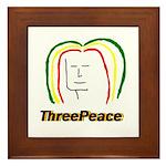 ThreePeace Rasta Framed Tile