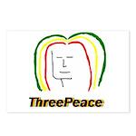 ThreePeace Rasta Postcards (Package of 8)