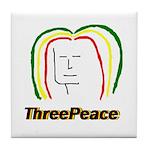 ThreePeace Rasta Tile Coaster