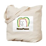 ThreePeace Rasta Tote Bag
