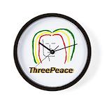 ThreePeace Rasta Wall Clock