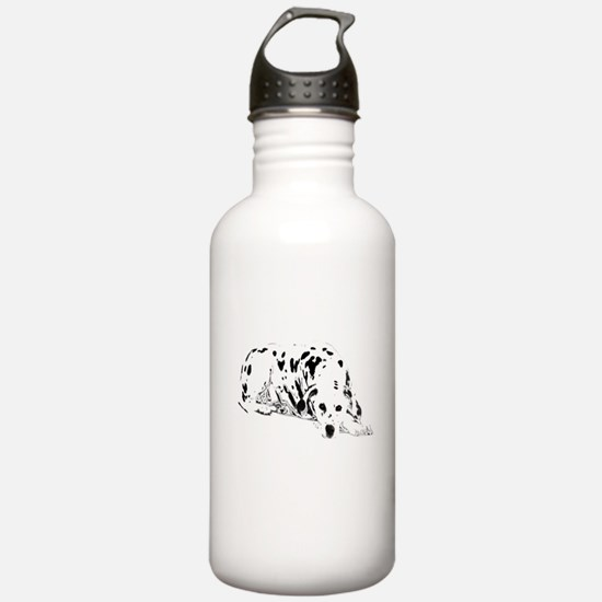 dalmation dog Water Bottle