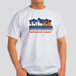 Montego Bay Jamaica Ash Grey T-Shirt