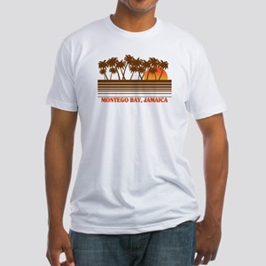 Montego Bay Jamaica Fitted T-Shirt