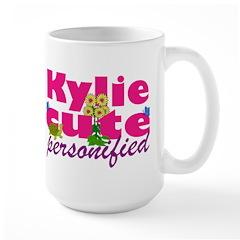 Cute Kylie Large Mug