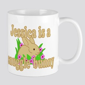 Jessica is a Snuggle Bunny Mug
