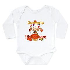 First Halloween Jenna Long Sleeve Infant Bodysuit