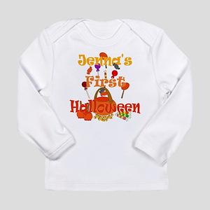 First Halloween Jenna Long Sleeve Infant T-Shirt