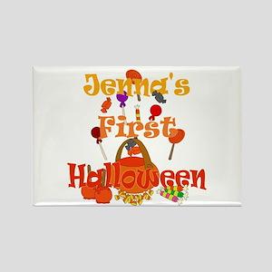 First Halloween Jenna Rectangle Magnet