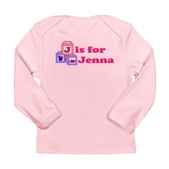 Baby Blocks Jenna Long Sleeve Infant T-Shirt