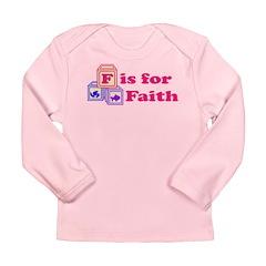 Baby Blocks Faith Long Sleeve Infant T-Shirt