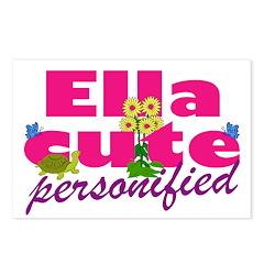 Cute Ella Postcards (Package of 8)