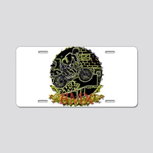 Bmx live to ride Aluminum License Plate