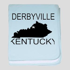 Derbyville baby blanket