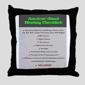 Paranormal Hobbyist Throw Pillow