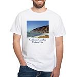Calif. Coastline, Hwy. One--white