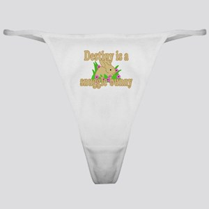 Destiny is a Snuggle Bunny Classic Thong