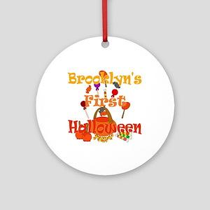First Halloween Brooklyn Ornament (Round)