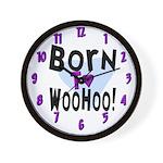 WooHoo! Wall Clock