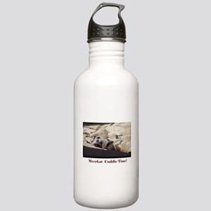 meerkat cuddle time Stainless Water Bottle 1.0L
