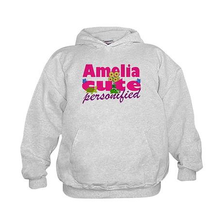 Cute Amelia Kids Hoodie