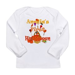 First Halloween Amelia Long Sleeve Infant T-Shirt