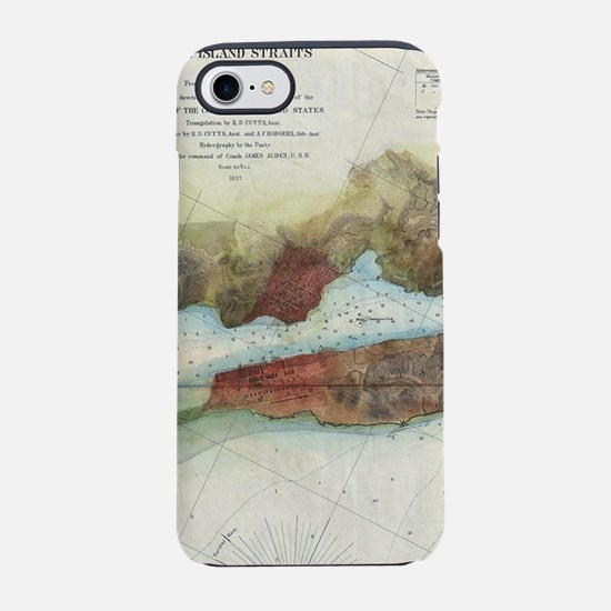 Vintage Mare Island Strait and iPhone 7 Tough Case
