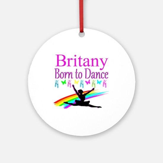 DANCER LIFE Round Ornament