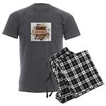 Doyenne Tiger Men's Charcoal Pajamas