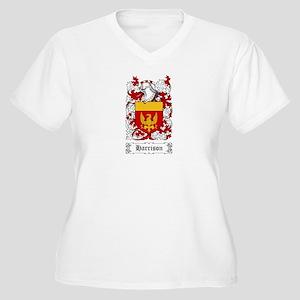 Harrison Women's Plus Size V-Neck T-Shirt