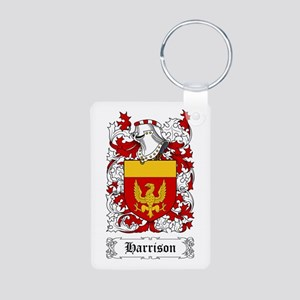 Harrison Aluminum Photo Keychain