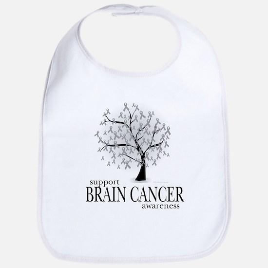 Brain Cancer Tree Bib