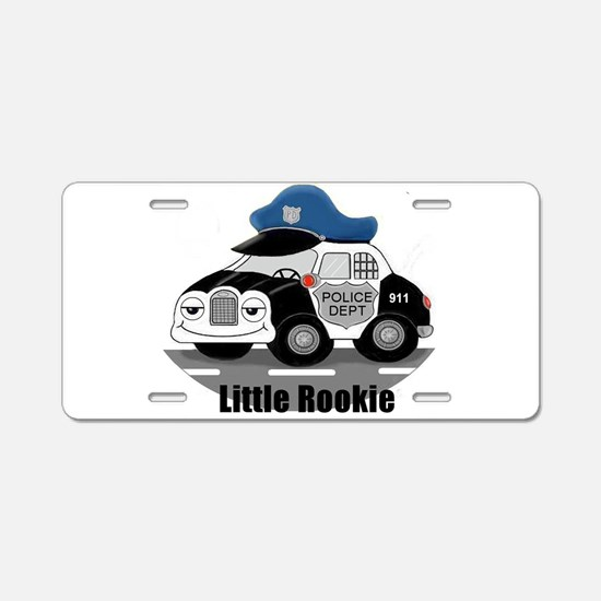 Little Rookie Aluminum License Plate