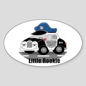Little Rookie Sticker (Oval)