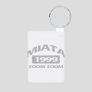 99 MIATA ZOOM ZOOM Aluminum Photo Keychain