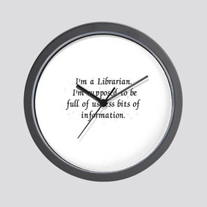 Useless bits of information Wall Clock
