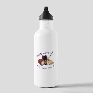 Cairn Terrier Baseball Stainless Water Bottle 1.0L