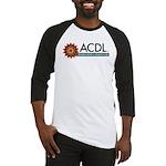 ACDL Logo Teal HR Baseball Jersey