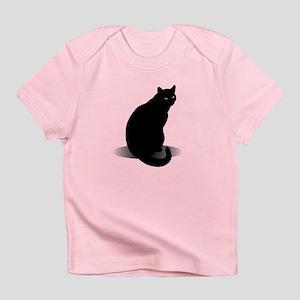 Basic Black Cat Infant T-Shirt