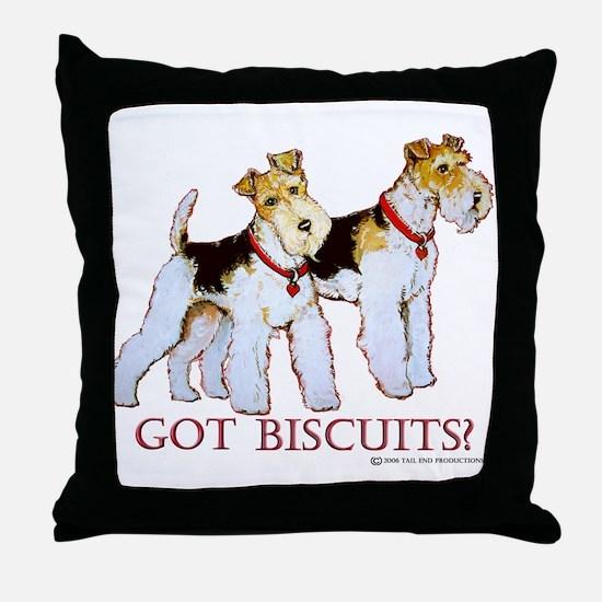 Got Biscuits? Throw Pillow
