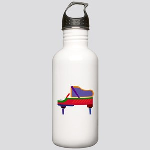Funky Piano Stainless Water Bottle 1.0L