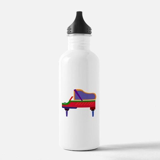 Funky Piano Water Bottle
