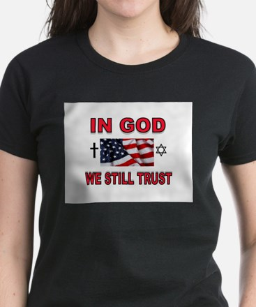 TRUST IN GOD Women's Dark T-Shirt