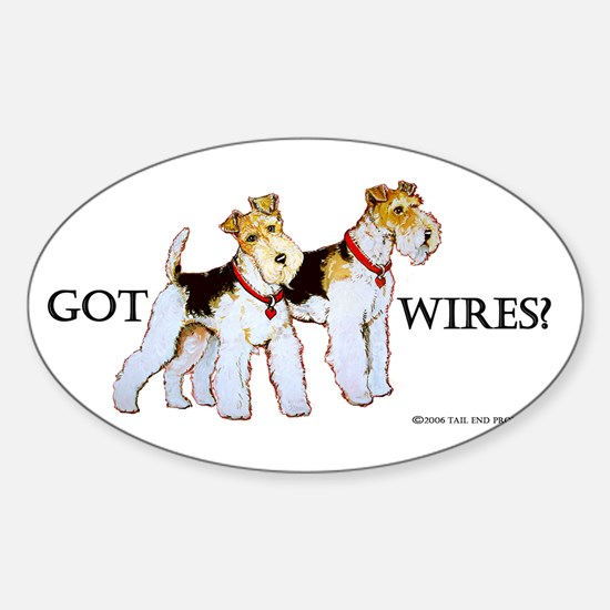 Got Wires? Oval Decal