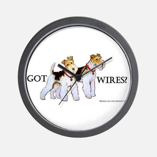 Got Wires? Wall Clock