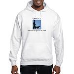oddFrogg Dog Walking Hooded Sweatshirt