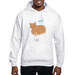 Cat and Fish Hooded Sweatshirt