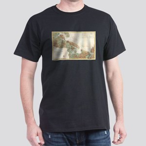 Vintage Map of Ipswich and Annisquam Harbo T-Shirt