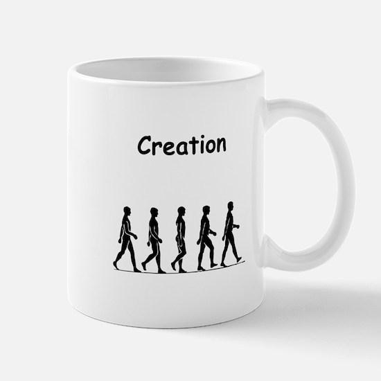 Cute Jesus darwin fish kiss evolution god Mug