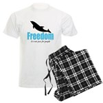 Dolphin Freedom Men's Light Pajamas